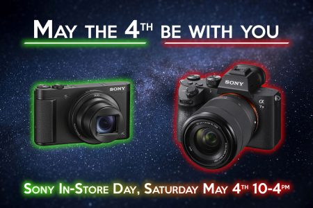Sony in-store day: May 4th